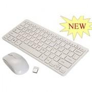 Multimedia Wireless Portable Mini Keyboard+Mouse for Laptop & Desktop