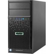 Server HP ProLiant ML30 Gen9 (Procesor Intel® Xeon® E3-1220 v5 (8M Cache, 3.00 GHz), Skylake, 1x4GB @2133MHz, DDR4, UDIMM, No HDD, 350W PSU)