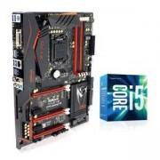Дънна платка ASROCK Z170 GAMING K6 + Процесор I5-7400