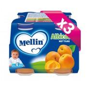 Mellin Nettari - Kit risparmio 3x Albicocca - KIT_3X_Confezione da 500 ml ℮ (4 bottiglie x 125 ml)