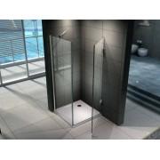 VB ITALIA Cabina doccia anta battente quadrata superlusso vetro 8 mm di spessore