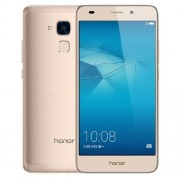 Huawei Honor 5C NEM-AL10 3GB+32GB Fingerprint Identification 5.2 inch EMUI 4.1 Hisilicon Kirin 650 Octa Core up to 2.0GHz Network: 4G WiFi BT GPS Dual SIM(Gold)