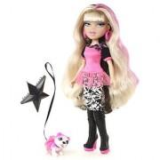 Bratz Neon Runway Doll - Cloe (Blonde Black and Pink)