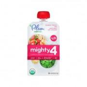 Plum Organics Essential Nutrition Blend - Mighty 4 - Kale Strawberry Amaranth Greek Yogurt - 4 oz -