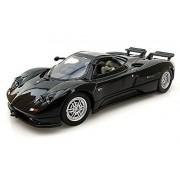 Pagani Zonda C12, Black Motormax 73272 1/24 Scale Diecast Model Toy Car