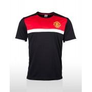 Manchester United Men's Supporter T-Shirt - Black/Red/White