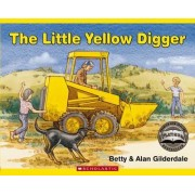 The Little Yellow Digger Book and Jigsaw Puzzle by Betty Gilderdale