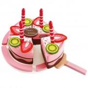 Hape Gâteau d'anniversaire double goût E3140