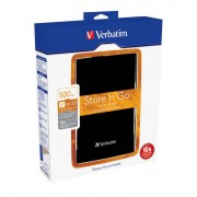 Hard disk extern Verbatim Store n Go 500GB 2.5 inch USB 3.0 Black
