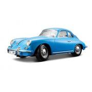 Bburago - 12025Bl - Véhicule Miniature - Modèle À L'Échelle - Porsche 356 B Cabriolet - 1961 - Echelle 1/18 Coloris aléatoire
