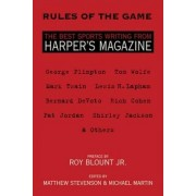 Rules of the Game by Matthew Stevenson