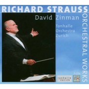 David Zinman-Tonhalle Orchestra Zurich - Richard Strauss-Orchestral Works (7CD/1DVD)