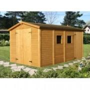 Cobertizo de madera Dan 3 de 273x370 cm. para Jardín