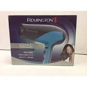 Remington D-3190 Ionic-Ceramic 1875 Watts Hair Dryer Teal Blue/Grey