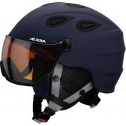 Alpina Grap Visor HM Helmet blue-navy matt Ski- & Snowboardhelme