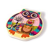 Oops LHB - 16008.1 Easy Jigsaw Puzzle - 3D Owl Shape Sorter