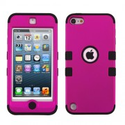 Funda Protector Triple Layer Apple Ipod Touch 5G / 6G Rosa Titanium / Negro
