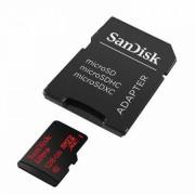 Card Sandisk MicroSD 128GB SDXC ULTRA, clasa 10, 80MB/s 533x