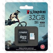 Micro SDHC card + Adapter (32GB class 10) Kingston
