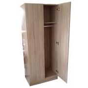 Két ajtós ruhásszekrény 180 x 76 x 45 cm tölgy 975180