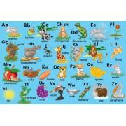 Spanish Alphabet Floor Puzzle