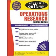 Schaum's Outline of Operations Research by Richard Bronson