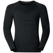 Odlo Evolution Warm Shirt L/S Crew Neck Men black-graphite grey XXL Langarm Shirts