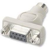 Manhattan PS/2 Mouse Adapter Mini MDIN6F / DB9F