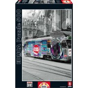 EDUCA 16358 Puzzle Ghent's Tram Belgium 500 bucăţi