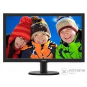 "Monitor Philips 243V5QSBA/00 23,6"" LED, negru"