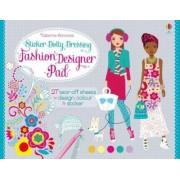 Sticker Dolly Dressing Fashion Pad by Fiona Watt