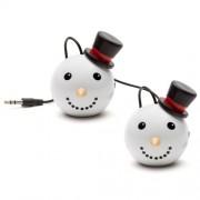 Boxa portabila KitSound MyDoodles Trendz Mini Buddy Snowman