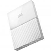 Hard disk extern Western Digital My Passport New 1TB 2.5 inch USB 3.0 White