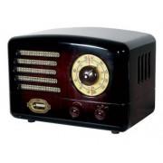 "RADIO AM/FM SONICGEAR RETRO ""TUBE AMPLIFIER"""