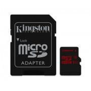 Micro SD Card, 64GB, KINGSTON microSDXC, 1xAdapter, UHS-I Class 3 U3 (SDCA3/64GB)