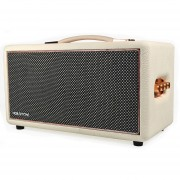 HolySmoke Retro Bluetooth Speaker - White - Birdwood