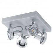 EGLO LED spot lamp Novorio 4L aluminium 94645