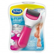Scholl Velvet Smooth Diamond Crystals Elektronisk Fodfil Pink