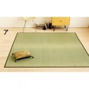 大目織い草ラグ裏つき1畳約87×174cm