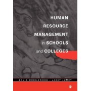Human Resource Management in Schools and Colleges by David Middlewood