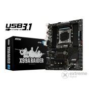 Placă de bază MSI X99A Raider s2011