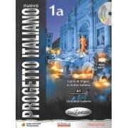 Nuovo Progetto Italiano 1A podrecznik + CD wersja wieloletnia by S. Magnelli