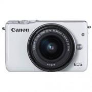 Canon Aparat CANON Eos M10 Biały + Obiektyw 15 - 45 mm IS STM + DARMOWY TRANSPORT!