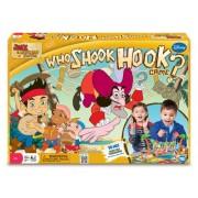 Jake & The Neverland Pirates: Who Shook Hook Game? - Juego de tablero Jake Y Los Piratas De Nunca Jamás, 2 a 4 jugadores (Wonderforge WFI01083) (versión en inglés)