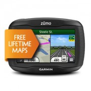 GPS Garmin ZUMO 340LM + Mapas Topo + 4 gb + Radares con voz