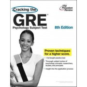Cracking The Gre Psychology Subject Test, 8th Edition by Princeton Review