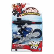 Blast n Go, Iron Spider cu vehicul Street Charger