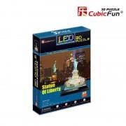 Statuia Libertatii New York SUA - Puzzle 3D - 39 de piese
