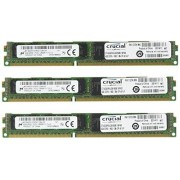 Crucial Mémoire RAM DDR3L (DDR3 SDRAM) 12 Go (3 x 4 Go) PC3-12800 800 MHz Very Low Profile