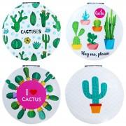 """Espejo """"Cactus"""" redondo doble"""